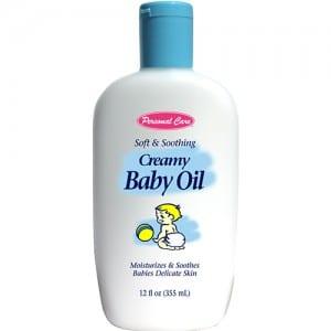 CREAMY BABY OIL Image