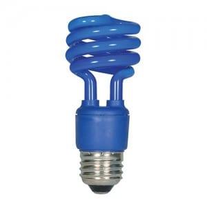 S7273 13W E26 BASE BLUE MINI SPIRAL Image
