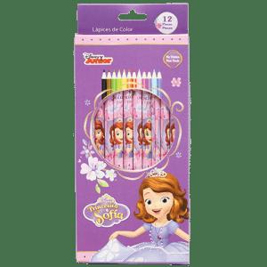 Princess 12 PCs Colour Pencils Image