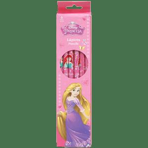 Princess 6 PCs Pencils Image