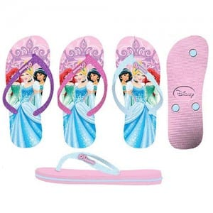 Princess Flip Flops Image