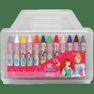 Princess 12 PCs Jumbo Crayons Image