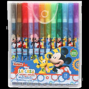Mickey 12 PCs Markers Image
