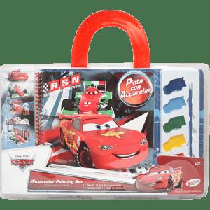 Cars Painting Watercolour Set Image