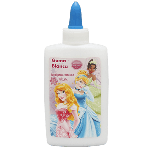 Princess White Glue Image