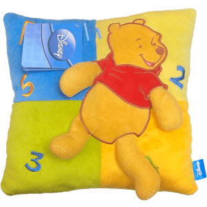 Winnie the Pooh Embroidered Cushion Image