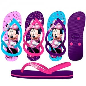 Minnie Mouse Flip Flops Image