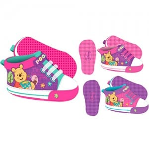 Winnie the Pooh Girls Shoe Image