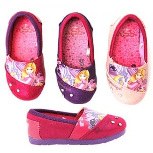Princess Slip-Ons Image