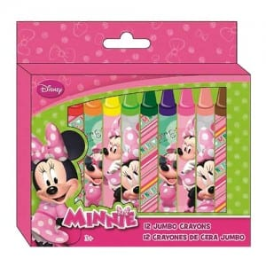 Minnie Mouse Jumbo Crayons Image
