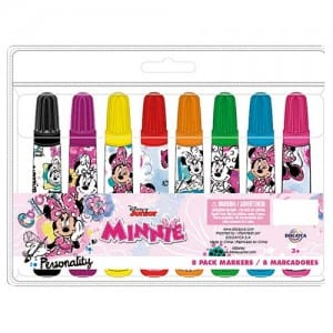 Minnie Mouse Markers Image