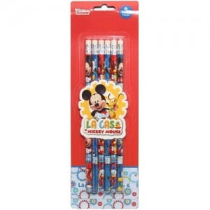 Mickey Mouse 6 PCs Pencils Set Image