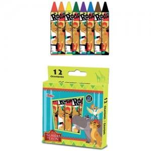 Lion Guard Jumbo Crayons Image