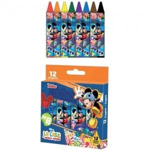 Mickey Mouse Jumbo Crayons Image