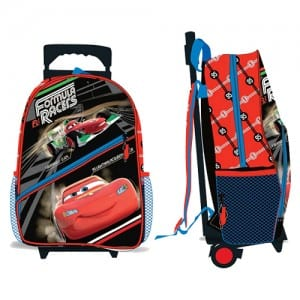"Cars 3 16"" Trolley Bag Image"