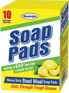 STEEL WOOL SOAP PADS LEMON Image