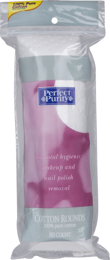 80 ct. Perfect Purity Cotton Rounds 33102
