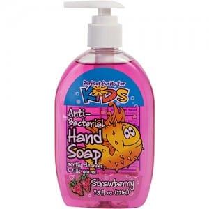 7.5 OZ STRAWBERRY ANTIBACTERIAL HAND SOAP Image