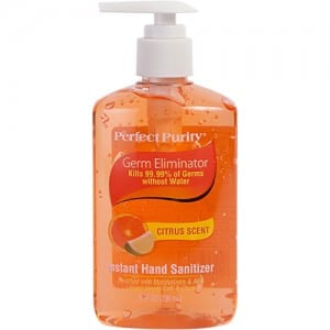 8 OZ HAND SANITIZER CITRUS Image