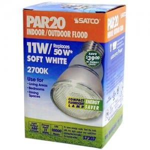 S7207 11W E26 PAR20 CFL Image