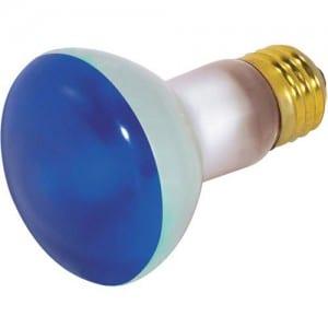 S3202 50W R20 REFLECTOR BLUE 130V Image