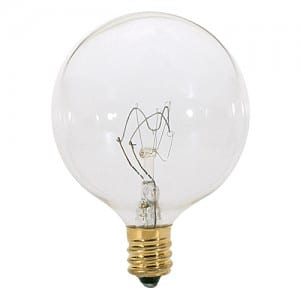 S3823 40W G16 .5 CAND CLEAR 120V Image