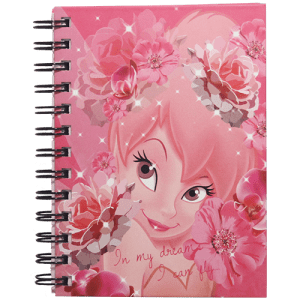Tinker Bell Spiral Diary Image