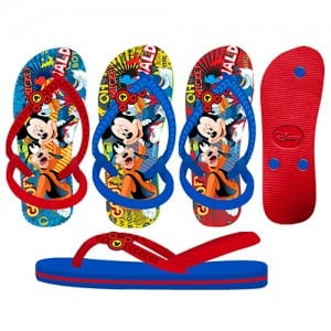 Mickey Mouse Flip Flop Image