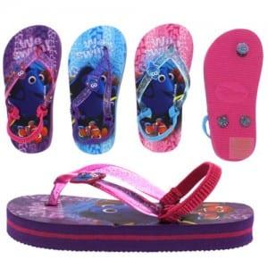 Finding Dory Flip Flops Image