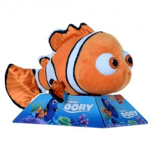 "Finding Dory 10"" Nemo Plush Image"