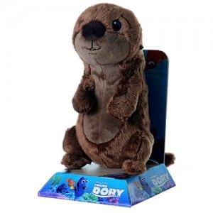 "Finding Dory 10"" Baby Otter Plush Image"