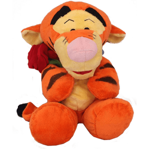 Tigger with Rose Image