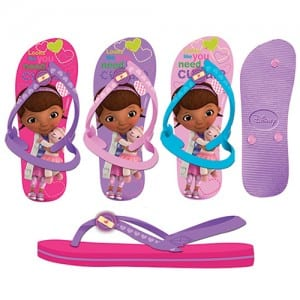Doc McStuffins Flip Flops Image