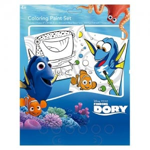 Finding Dory Colouring Paint Set Image