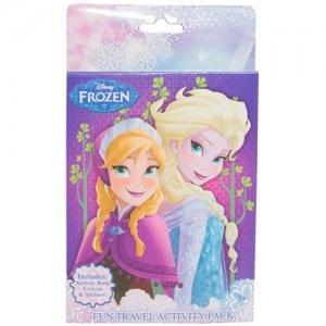 Frozen Fun Travel Activity Pack Image