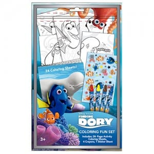 Finding Dory Colouring Fun Set Image