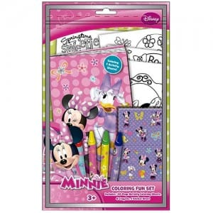 Minnie Mouse Colouring Fun Set Image