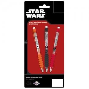 Star Wars 3 Pack Mechanical Pencils Image