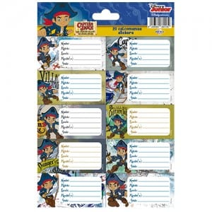 Captain Jake Notebook Stickers Image