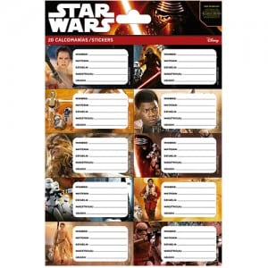 Star Wars Notebook Stickers Image
