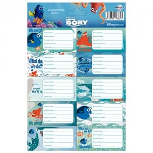 Finding Dory Notebook Stickers Image