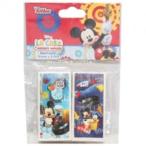 Mickey Mouse 2 PCs Erasers Image