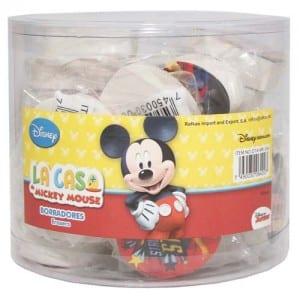 Mickey Mouse 24 PCs Eraser Display Image