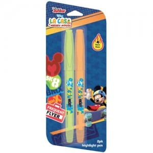 Mickey Mouse Highlighter Pens Image