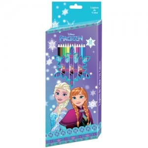 Frozen 12 PCs Colour Pencils Image