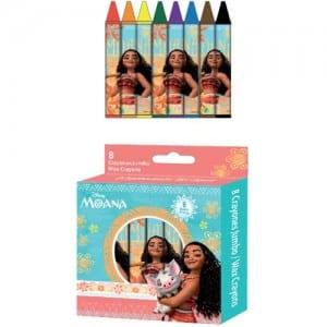 Moana 8 PCs Crayons Image
