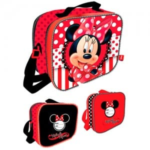 Minnie Mouse 3D Lunch Bag Image