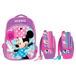 Minnie Mouse 3D Backpack Image