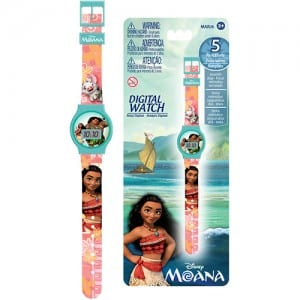 Moana Digital Watch Image