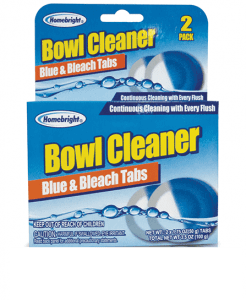 BLUE AND BLEACH TABS BOWL CLEANER Image